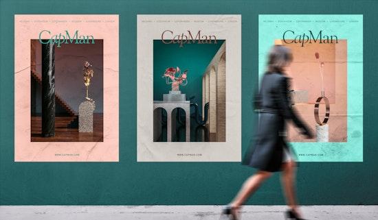 CapMan posters.
