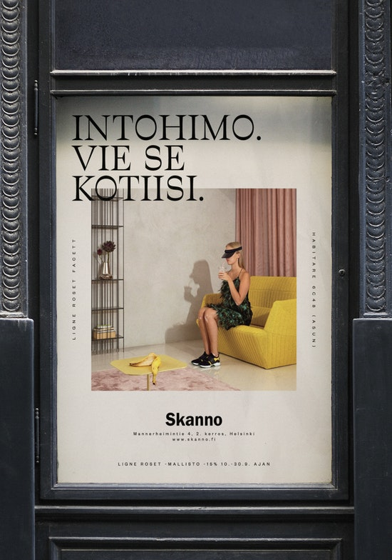A Skanno poster.
