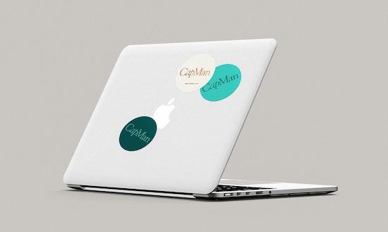 CapMan brand elements.