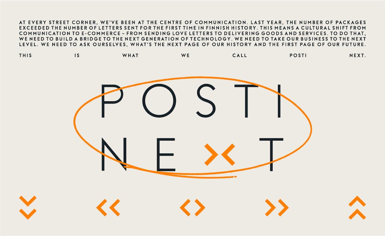 Posti Next logo