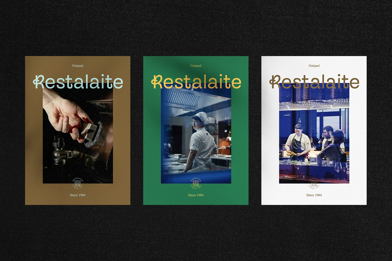 Restalaite posters.